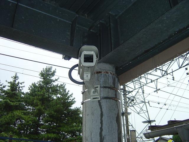 愛知県安城市,駐車場カメラ設置例