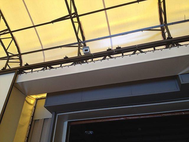 三重県,テント倉庫カメラ設置